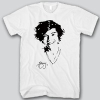 Harry Styles Face Unisex T-shirt Funny and Music