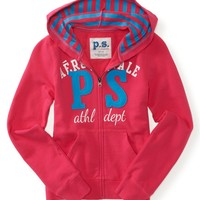 Kids' PS Athletic Zip-Front Hoodie - PS From Aeropostale