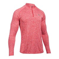 Men's UA Tech™ ¼ Zip in Red/White by Under Armour