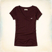 Must-Have Short Sleeve V Neck T-Shirt