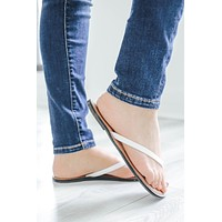Day Or Night Sandals - White