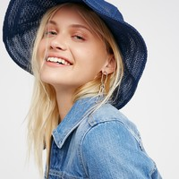 Free People Mesh Bell Bucket Hat