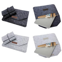 New Fashion Soft Sleeve Bag Case For Apple Macbook Air Pro Retina 11 12 13 15 Laptop Anti scratch Cover For Mac book 13.3 inch