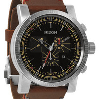 The Magnacon Leather | Men's Watches | Nixon Watches and Premium Accessories