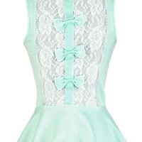 The Mint Bow Top - 29 N Under