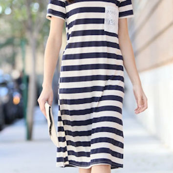 Urban Striped Dress