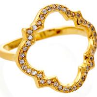 Marrakech Ring with White Sapphires, Stone & Novelty Rings