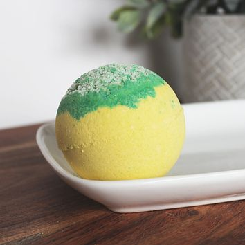 Lemongrass Essential Oil  Bath Bomb