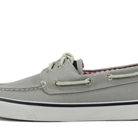 Sperry Topsider for Women: Bahama Grey Canvas Boat Shoe