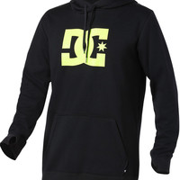 DC Snowstar PO 15 Water Resistant Bonded Pullover Hoodie - Caviar