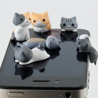 Kitty cat stereo headphone plug