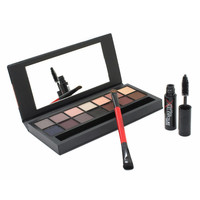 Professional 14 Colors Smash Box Eye Shadow Double Exposure Palette Cosmetic Set
