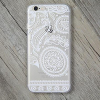 Hollow Out Lace Cover Case for iPhone 5s 5se 6 6s Plus Gift + Gift Box