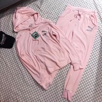 """PUNA"" Casual Hoodie Top Sweater Pants Trousers Set Two-piece Sportswear"