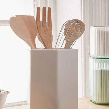 Core Bamboo Hexagon Utensil Holder