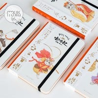New Cute Sketchbook Watercolor Painting Notebook School Diary 96 Sheets Sketch book for drawing Office school supplies Gift