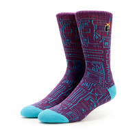 The Hundreds Trical Purple Crew Socks