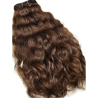 Indian Remy French Wave Human Hair Extensions - Wefted Hair 26""