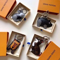 Louis Vuitton LV Cute animal Bag Charm And Key Holder