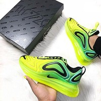 "NIKE AIR MAX 720 ""VOLT"" NOW AVAILABLE Hundreds of leisure sports jogging shoes"