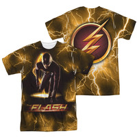 Flash TV Show Bolt Sublimation Mens T-Shirt