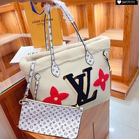 Louis Vuitton LV two-piece fashion trend shoulder bag