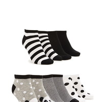 Mixed Panda Ankle Socks Pack | Forever 21 - 2000171660