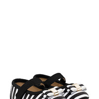 Kate Spade Babies' Stripe Mary Jane With Bow