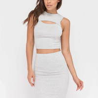 Ace The Chest Cut-Out Two-Piece Dress GoJane.com