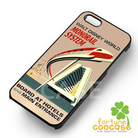 Monorail system disney world -S44rw for iPhone 4/4S/5/5S/5C/6/6+,samsung S3/S4/S5/S6 Regular/S6 Edge,samsung note 3/4