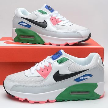 NIKE Air Max 90 Classic Popular Women Casual Running Sneakers Sport Shoes
