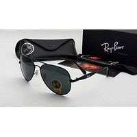 RAYBAN AVIATOR MEN'S PRE-OWNED SUNGLASSES UNUSED FOR UNISEX STYLISH GOGGLES