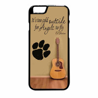 Ed Sheeran Guitar And Song Quotes iPhone 6 Plus Case