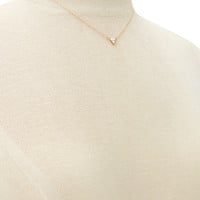 Triangle Charm Necklace