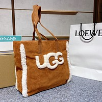 UGG tote bag personality all-match shoulder bag