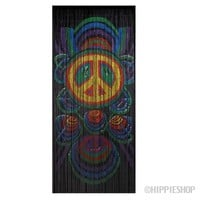 Bamboo Peace Signs Door Beads on Sale for $39.99 at HippieShop.com