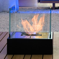Bioethanol open vent free fireplace TWIN Bioethanol fireplaces Collection by ITALY DREAM DESIGN | design Massimo Botti