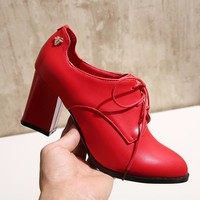 Casual Comfort Hot Deal Hot Sale Stylish On Sale Shoes Ladies Plus Size High Heel Sneakers [6366201092]