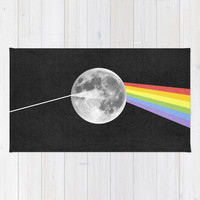 Dark Side of the Moon. Area & Throw Rug by Nick Nelson | Society6