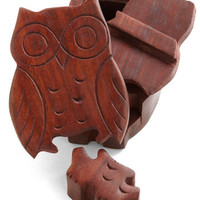 Owl of Your Things Keepsake Puzzle Box