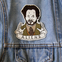 LIMITED EDITION Giorgio A. Tsoukalos ALIENS Embroidered Patch/Brooch