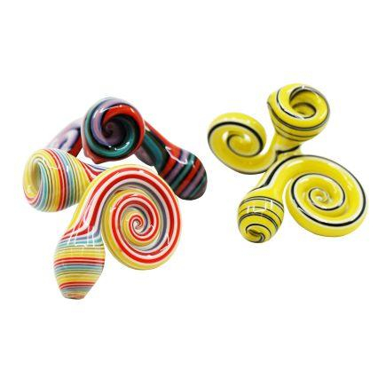 Image of JEM Glass Curly Spoons