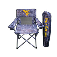 West Virginia Mountaineers NCAA Ultimate Real Tree Camo Adult Tailgate Chair