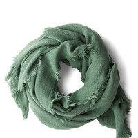 Come Trail Away Scarf in Pine | Mod Retro Vintage Scarves | ModCloth.com