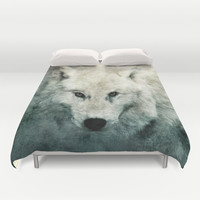 The Tenderness Of Wolves Duvet Cover by Tordis Kayma