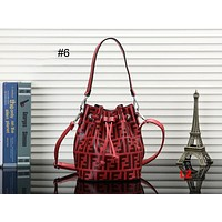 FENDI 2018 new women's bucket bag Messenger bag shoulder bag #6