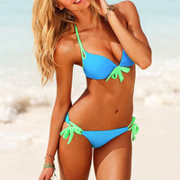 SIMPLE - Sexy Push Up Two Piece Swimwear Bikini Set b1973
