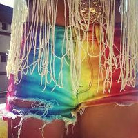 Tie Die shorts by TyeDyeLand on Etsy