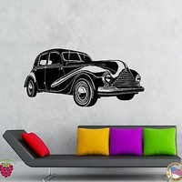 Wall Stickers Vinyl Decal Old Retro Car Auto Decor For Living Room  Unique Gift (z2131)