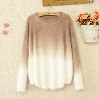 Gradient Sweater PL1107A